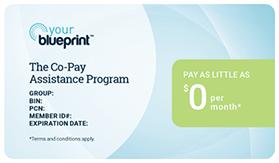YourBlueprint™ Co-Pay Card
